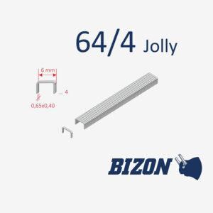 Скобы канцелярские тип 64 (Jolly)