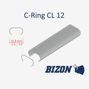 С-образная скоба, тип CL12x1,6