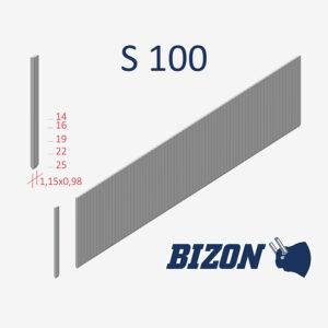 Тип штифтов без головки: S 100