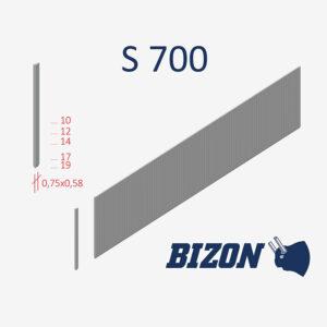 Тип штифтов без головки: S 700