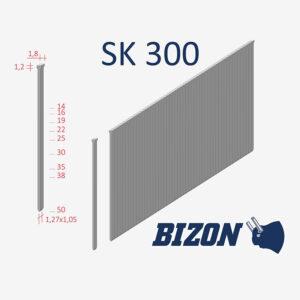 Шпильки с головкой типа: SK300