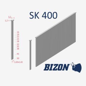 Штифты с головкой типа: SK 400