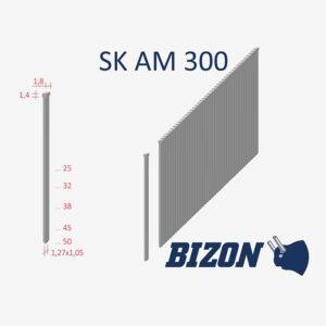 Штифты с головкой типа: SK AM 300
