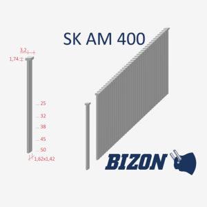 Штифты с головкой типа: SK AM 400